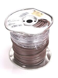 New Southwire 250 Ft Non Plenum Thermostat Wire 18 Awg Brown