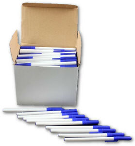 Wholesale Bulk Stick Ballpoint Pens Blue Lot Of 576