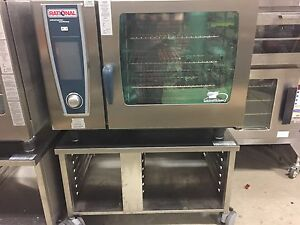 Demo Rational Scc We 62ng Gas Combi Oven 208 1 Ph 2 Year Factory Warranty
