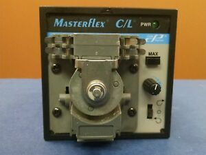 Masterflex Dual channel peristaltic pump 10 To 60 Rpmc l Drive 77120 62
