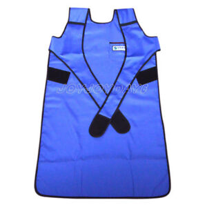 Flexible X ray Protection Protective Lead Apron 0 35mmpb Blue Faa07 L In Usa Joy