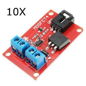 10pcs Dc 1 Channel 1 Route Irf540 Mosfet Switch Module For Arduino Motor Drives