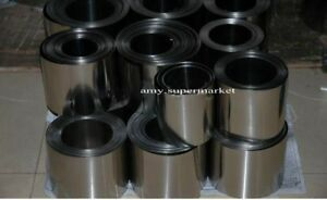 Ta1 High Purity Titanium Sheet foil coil Research Experiment 0 4mm 200mm 400mm
