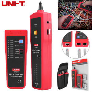 Ut682 Rj11 Rj45 Wire Tracker Line Finder Telephone Network Cable Tracer Tester
