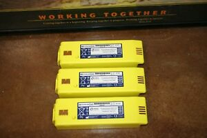 Lot Of 3 Cardiac Science Powerheart Aed G3 Battery 9146 102 202 302 25 Life