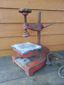 Antique Vulcanizer Vintage Repair Tool Minnesota Mining Mfg Not Working