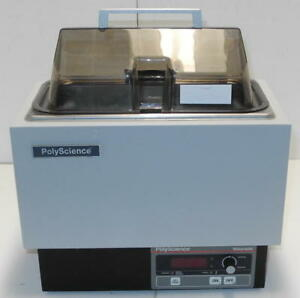 Polyscience 5l M Digital Water Bath With Clear Cover And Tray very Clean Unit