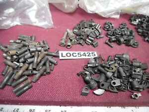 Lot Of 568 Misc Screws Hold Downs Lathe Mill Tool Holders