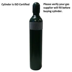 125 Cf Cylinder Inert For Welding Bottle Tank Cga580 Argon Argon co2 Helium