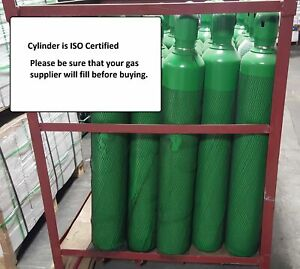 125 Cf Cylinder Oxygen For Welding Bottle Tank Cga540