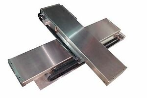 Nutec X y Linear Stage Set 300mm X 300mm With Rotary Cable On Sale Now