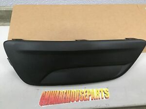 2013 2016 Malibu Black Driver Front Bumper Lower Grille New Gm 20768848