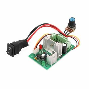 6 30v Dc Motor Speed Controller Reversible Pwm Control Forward Reverse Switch