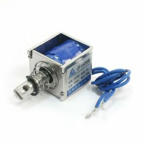 Dc12v 2a 20n 10mm Pull Push Type Linear Motion Solenoid Electromagnet