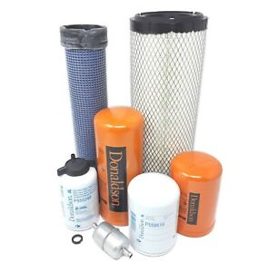 Case 580l 580 Super L W cummins 3 9l Eng Loader Maintenance Filter Kit Donaldson