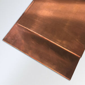 2 Pieces 03 12 x 36 Copper Plate Sheet Random Usable Drop Bus Bar 18oz Solid
