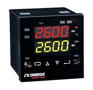 Omega Engineering Cn72130 Temperature process Controller With Fuzzy Logic