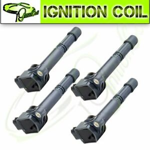 Set Of 4 For Honda Civic Accord Element Ignition Coil 2 4l Uf311 2003 2006