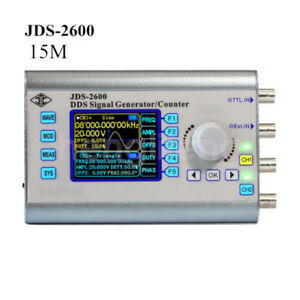 New 15mhz Dual Channel Function Arbitrary Waveform Dds Signal Generator