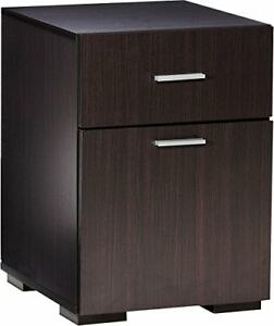 Comfort Products 50 2401es Modern 2 Drawer Lateral File Cabinet Espresso