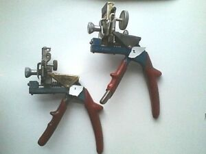 2 Curtis Code Cutter Model 15 Key Clippers 1 Std 1 Wide
