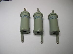 Doorknob Capacitor K15y 2 680pf 2kv Nos Lot Of 3pcs