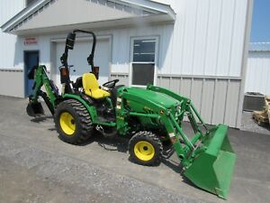John Deere 2032r Hydro Tractor With H130 Loader And 46 Backhoe