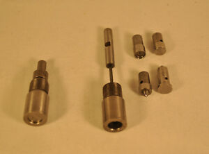 Bullet Swage Dies (unknown manufacture may be Corbin) Punches are .429 dia