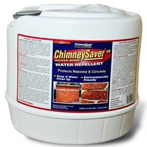 Water base Chimneysaver Water Repellent 3 Gallon Container