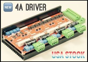 Stepper Motor Driver 1mhz Cnc 4 Axis Engraving Router Usa Seller