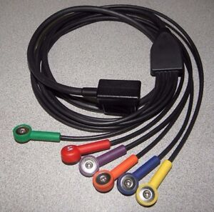 New Zoll 3012 0021 03 6 Lead V Patient Cable For 12 Lead Ecg E Series M Series