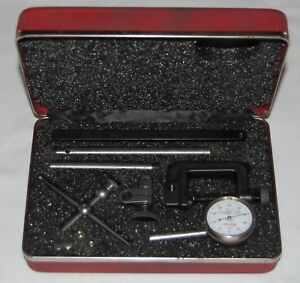 Starrettuniversal Dial Test Indicator Kit 196a1z Case Complete Usa