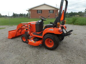 Kubota Bx1860 4wd Tractor Loader W Belly Mower 2013 W 52hrs
