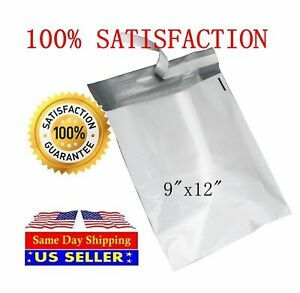 50 9x12 Poly Mailers Self Sealing Shipping Envelopes Mail Bags St Shipmailers