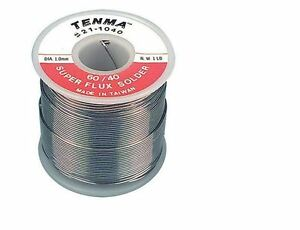 Soldering Wire Rosin Core Solder 60 40 Tin Lead 1 Lb Electronic Repair Assembly