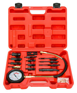 Diesel Engine Compression Tester Test Set Kit For Car Auto Tractor Semi