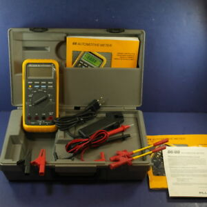 Fluke 88 Automotive Meter Excellent Condition Case