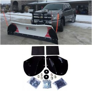 Heavy Duty Snow Plow Pro wing Blade Extensions Adds 20 Of Blade Width Snowplow