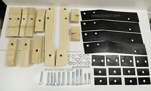 1928 1928 Model A Ford Body Mounting Kit Includes Blocks Pads And Hardware