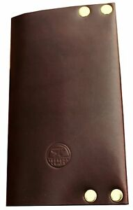 American Bench Craft Riveted Leather Field Notes Brand Journal Cover
