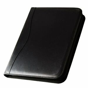 Mcbazel Job Interview Executive 3 ring Binder Portfolio Leather Documents With