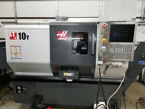 Used 2015 Haas St 10 Y Live Tool Cnc Turning Center Lathe Y Axis Tailstock Rigid