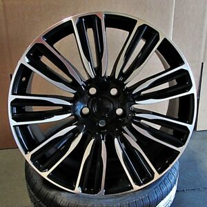 22 Wheels Rims For Range Rover Sport Hse Supercharged Land Rover Discovery 5