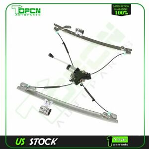 Power Window Regulator Fits Chrysler Town Country Front Driver Side W Motor