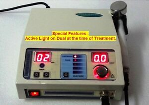 1 Mhz Ultrasound Therapy Portable Chiropractic Deep Heat Tissue Treatment Unit