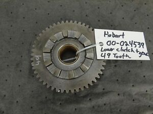 Hobart 60 80 Qt H600 L800 Mixer 00 024539 Lower Clutch Lower Gear