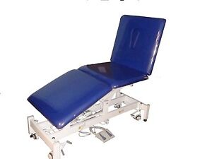 Treatment Examination Table With 3 Movable Sections By Electric Power