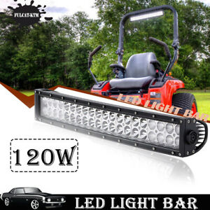 120w 20inch Led Light Bar For Jeep Suv Atv Hummer Truck Marine