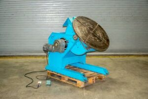 Gentec 6 600 Welding Positioner Table Rotary Tilting