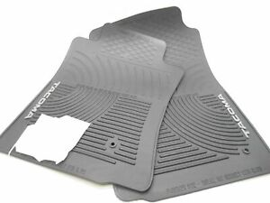Oem Toyota Tacoma Front Rubber Floor Mats Round Grommet Holes